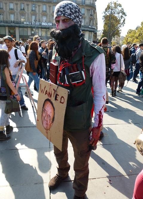 Pas de zombie terroriste cette année !