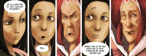 Des visages très expressifs