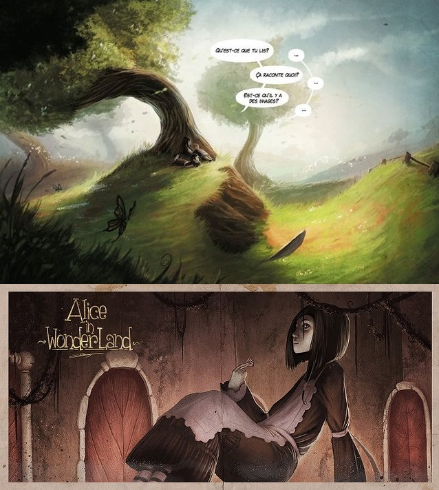 """""""Quand je lisais des contes de fées, je m'imaginais que ces choses n'arrivaient jamais, et maintenant me voici dans un de ces contes ! On devrait écrire un livre sur moi, vraiment on devrait !"""""""