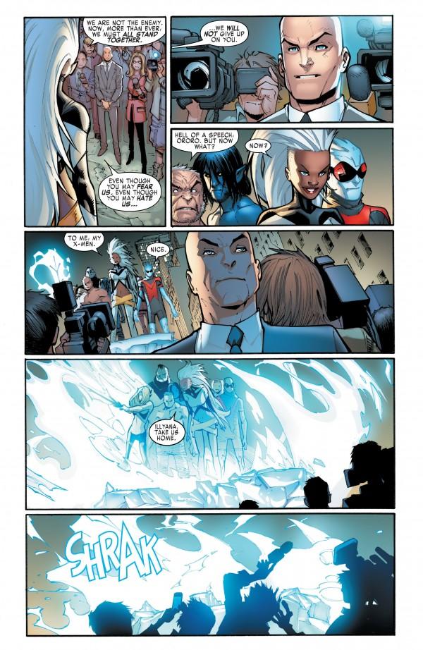 Le fantôme de Charles Xavier