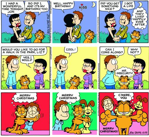 Garfield, c'est aussi plein de jolis sentiments