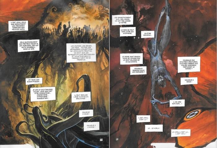 Cthullu Horla's secret origins!