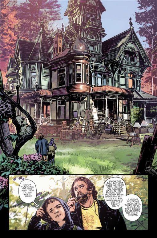 Que peut bien cacher une maison abandonnée?
