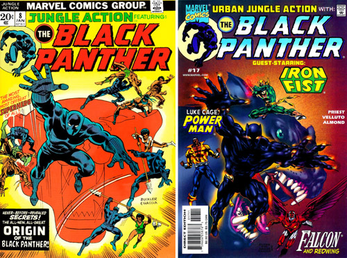 La série rendra parfois hommage à ses devancières, comme sur la cover du numéro 17, basée sur la composition de celle de Jungle Action 8