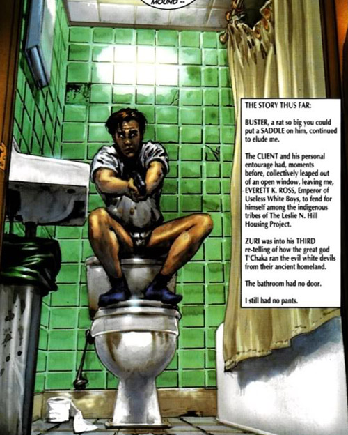 Everett K. Ross: un slip normal chez les super-slips