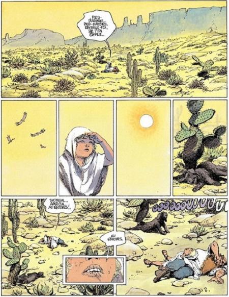 …et continue dans un désert implacable...