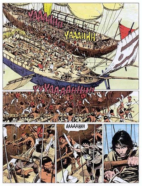 La neige, le désert, des temples mayas, et même des vaisseaux volants qui jouent aux pirates! L'aventure, toutes les aventures…