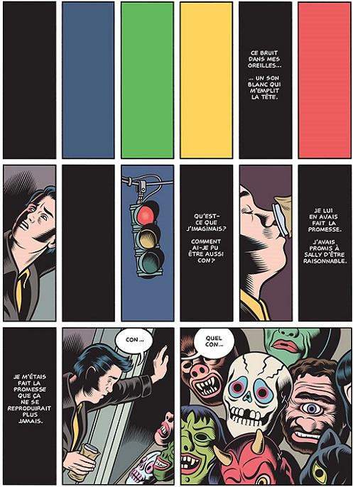 Narration par la couleur: stop.