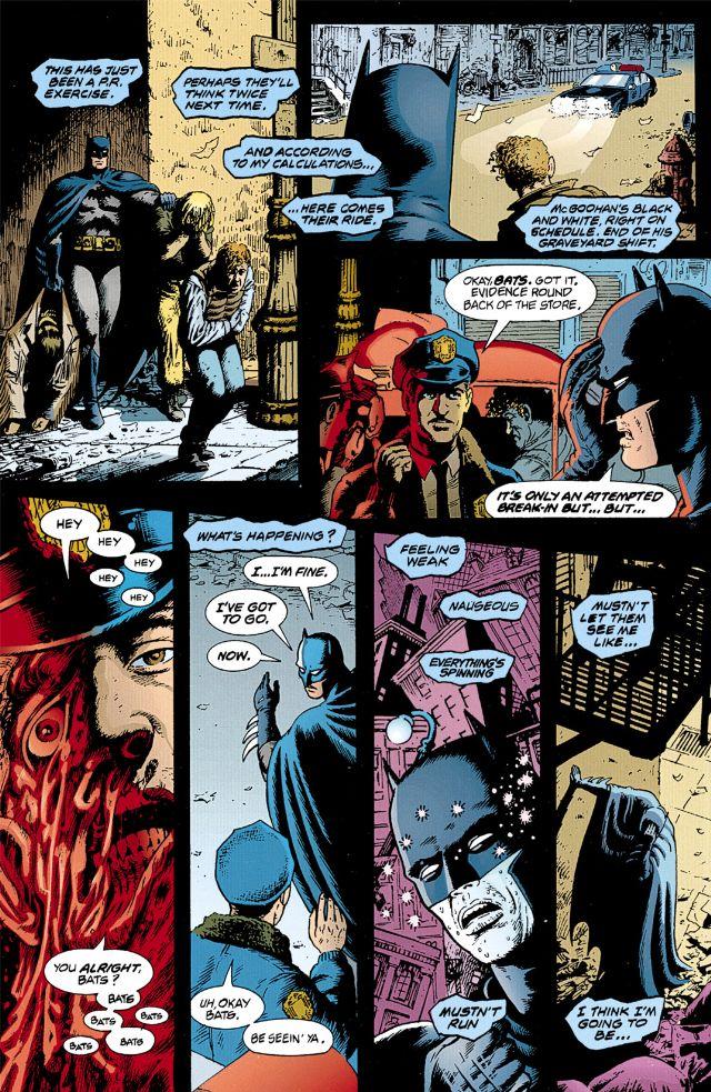 Un super-héros bien connu, en proie à des hallucinations anormales…