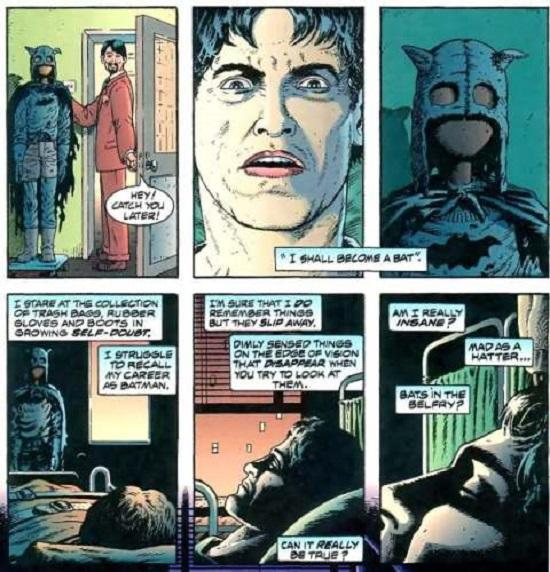Et si Batman était… un malade qui se prend pour un super-héros?