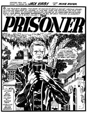 Un numéro 6 très super héroïque par Jack Kirby  © Marvel