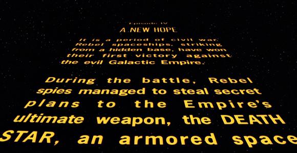 Lucas a inventé le premier spoiler de l'histoire du cinéma: il a raconté Rogue One il y a 40 ansde cela !