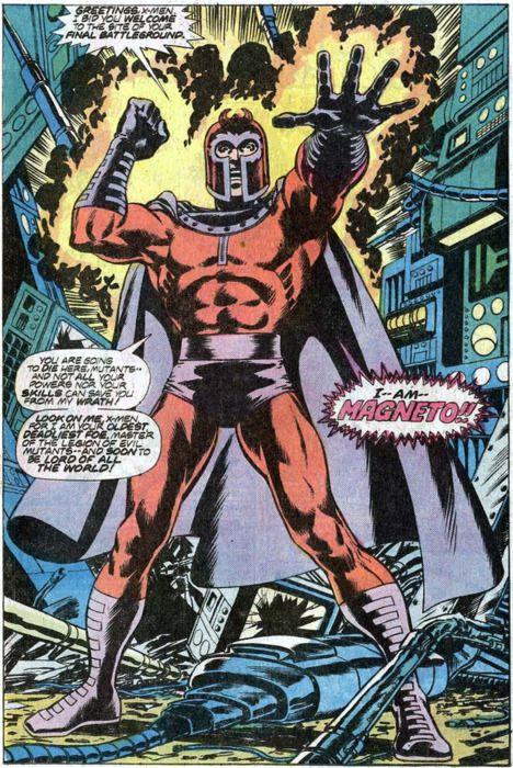 Pissed off Magneto!