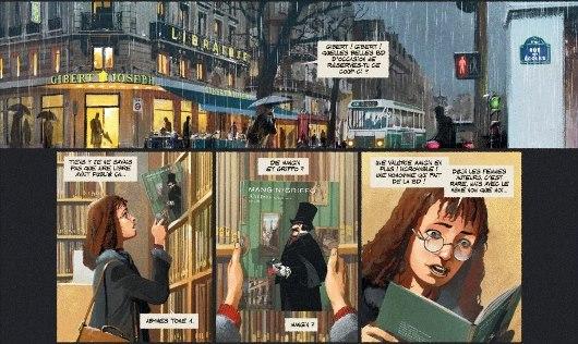 En 1993, Valérie Mangin découvre le premier tome d'Abyme (paru en 2013)