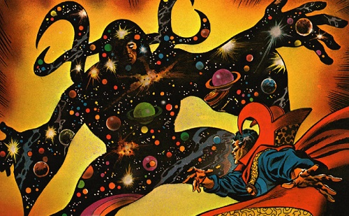 Psychedelic style (Gene Colan)
