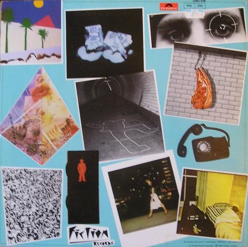 Le recto de la pochette : la liste des morceaux en photo !
