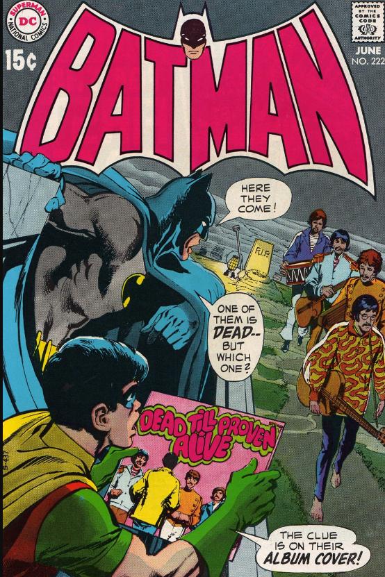 Paul est il vraiment mort ? Batman mène l'enquête !