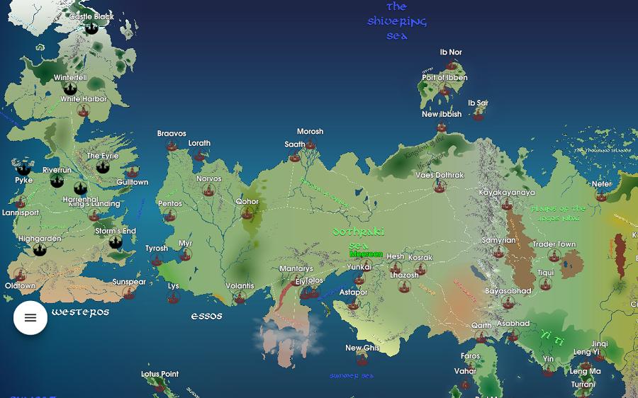 Une carte, comme chez Tolkien