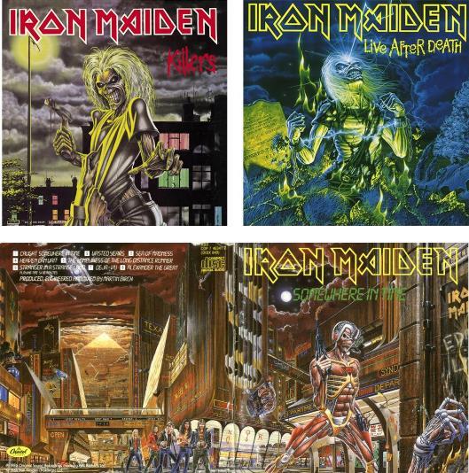 Indissociables : Iron Maiden, Eddie & Derek Riggs