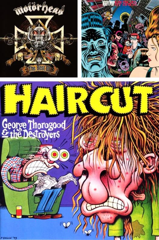 Simon Bisley, Charles Burns, Peter Bagge