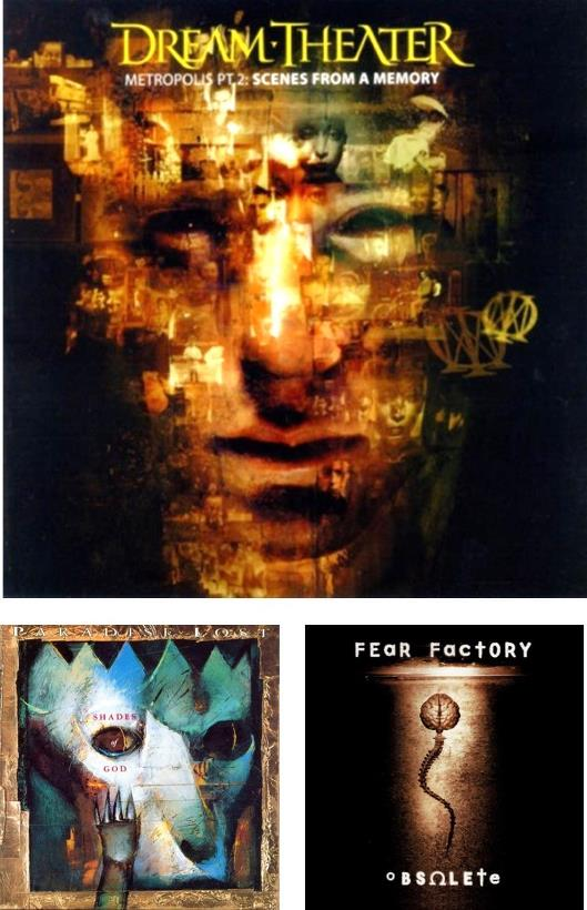Dream Theater, Paradise Lost, Fear Factory
