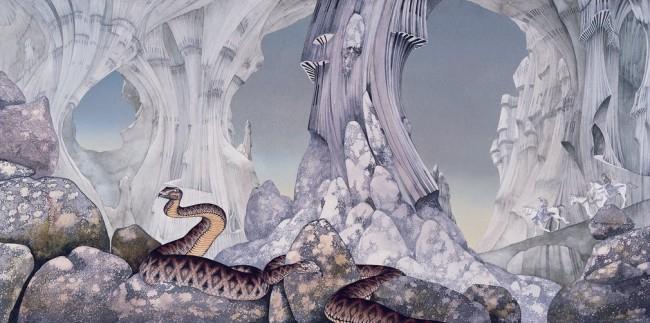 Les croisés de Relayer par Roger Dean