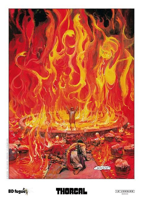 Ex-libris du feu de dieu