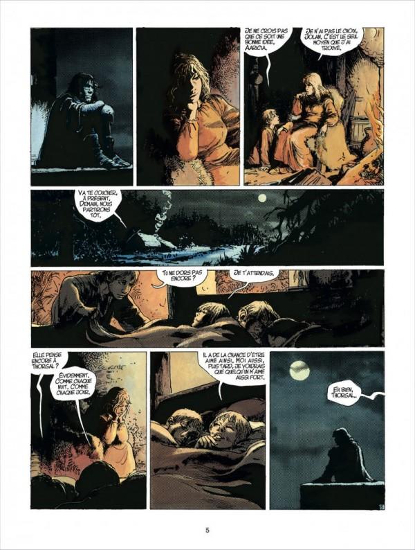 L'angoisse de la sépartion en une page. Il y a beaucoup de scifi chez Thorgal, mais hélas pas de téléphone...