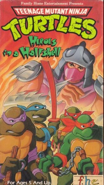 Les tortues et leur ennemi juré The Shredder