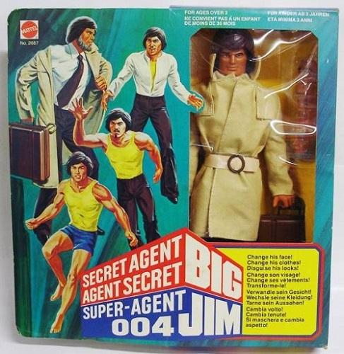 Un travail d'agent secret pour Thomas tel le Big Jim 004 et ses visages tournants.