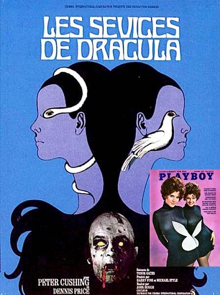 Une affiche conceptuelle mais un vampire qui n'a rien avoir avec le film…