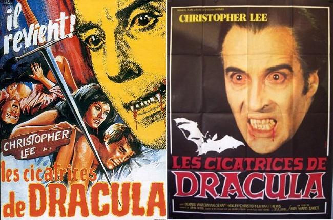 A droite: Ressortie du film en 1979 et grosse frayeur pour le petit enfant que j'étais qui avait vu l'affiche!