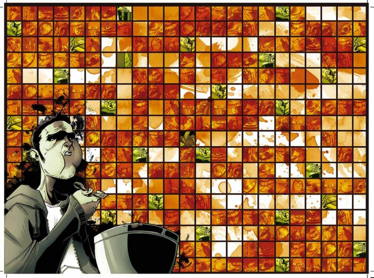 La mise en scène des repas de Tony : aussi culte désormais que le sens radar de Daredevil !