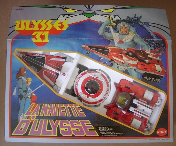 La navette d'Ulysse détachable en 3 parties : « Un jouet pour gosse de riche »
