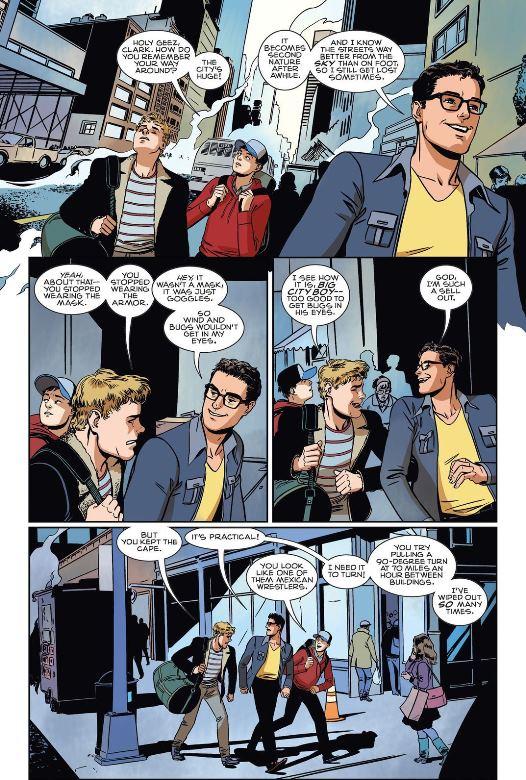 En virée à Metropolis, par Jonathan Case