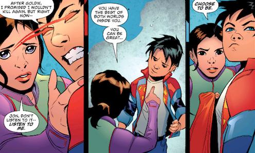 Lois Lane, la voix de la raison