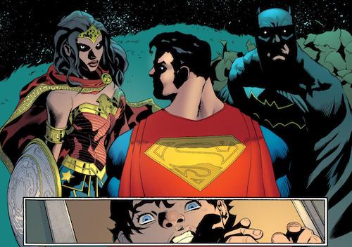 Les membres de la trinité DC peuvent paraître intimidants à travers le prisme d'un enfan