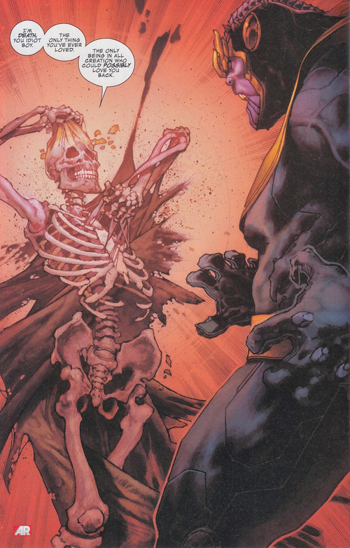 Captain Thanos, tueur de…trucs qui le soulagent Thanos