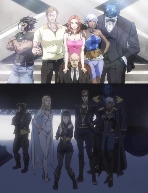 L'équipe, avant et après X-men
