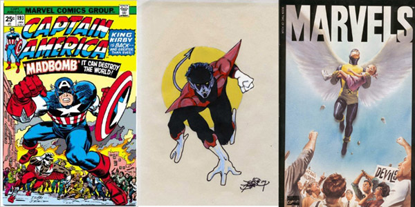 Un dessinateur français avec une vraie culture comics!