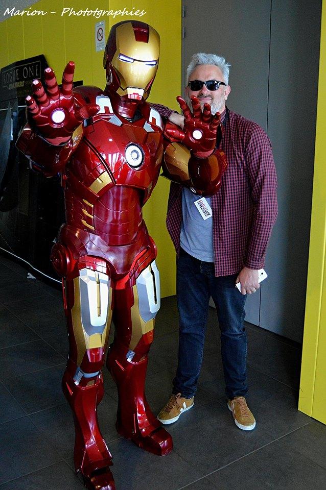 Bruce et son bodyguard
