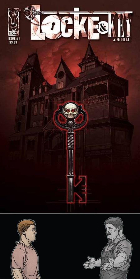 Locke & Key : Les clés de l'Œdipe !