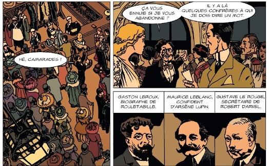 Gaston Leroux, Maurice Leblanc, Gustave Le Rouge