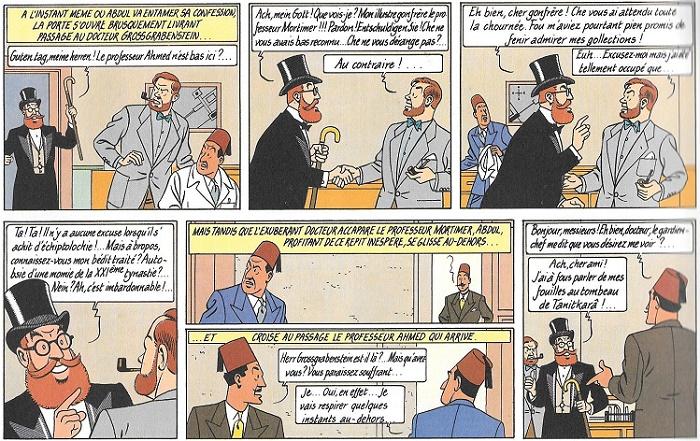 Le Professeur Gossgrabenstein, comique troupier…