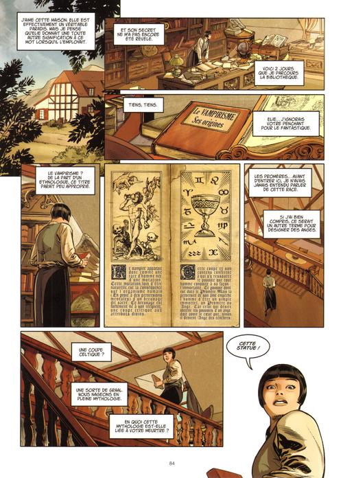Etude d'anciens écrits, parchemins, théories occultes. Mystères et suspense sont au rendez-vous