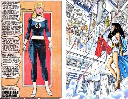 Invisible Woman, Diana déesse de la vérité