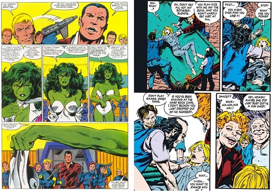 Humiliation sexuelle pour She-Hulk et Bethany