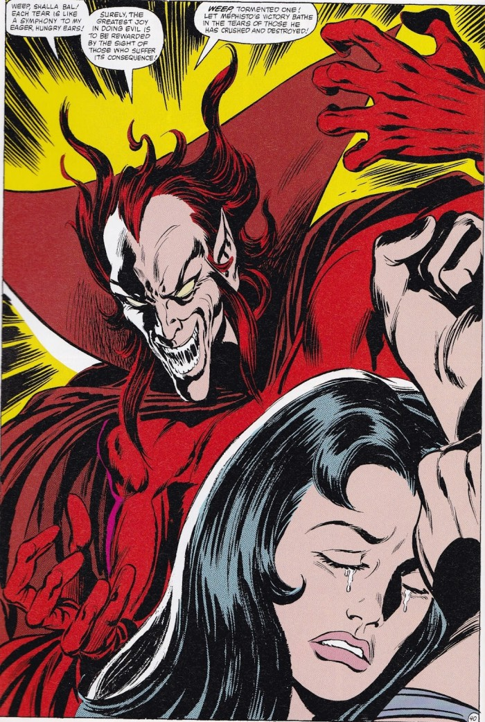 Le Diable et la gonzesse toujours un peu cruche made in Stan Lee
