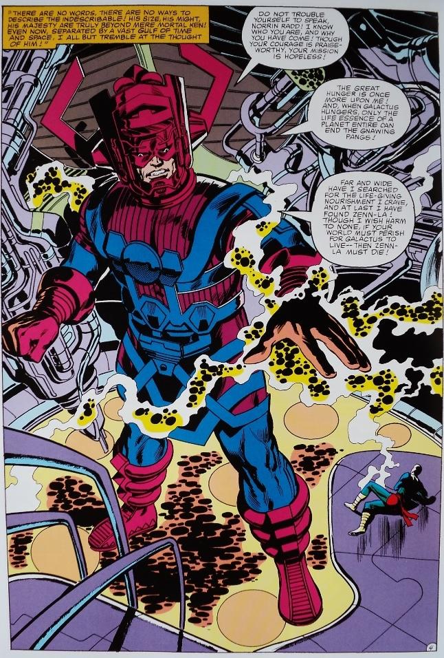 La classe incarnée : Galactus, le dévoreur de mondes