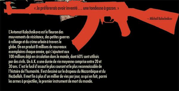 Conclusion du numéro 21, avec la AK-47 en guest-star